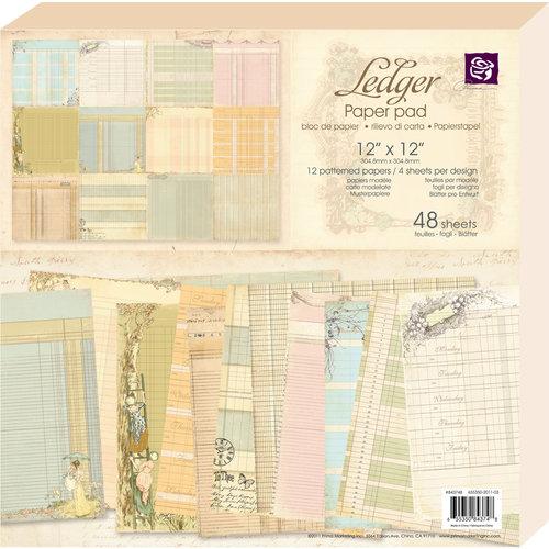 Prima - 12 x 12 Paper Pad - Ledger 1