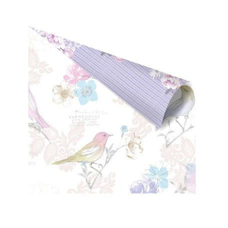 Prima - Meadow Lark Collection - 12 x 12 Double Sided Paper - Audonbon
