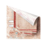 Prima - En Francais Collection - 12 x 12 Double Sided Paper - Cheval