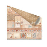 Prima - En Francais Collection - 12 x 12 Double Sided Paper - Bonjour