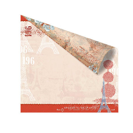 Prima - En Francais Collection - 12 x 12 Double Sided Paper - Memoire