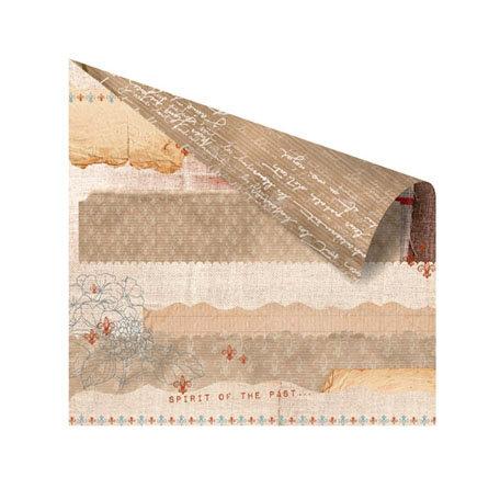 Prima - En Francais Collection - 12 x 12 Double Sided Paper - Province