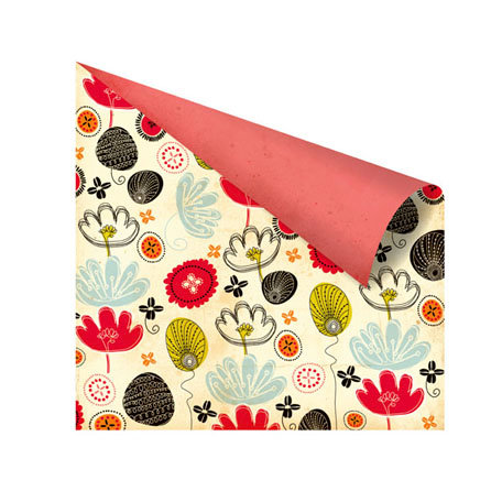 Prima - Doodle-Deux Collection - 12 x 12 Double Sided Paper - One-Up