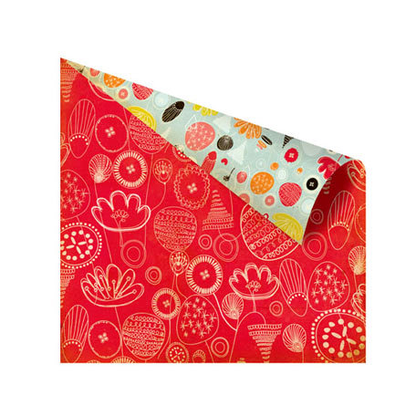 Prima - Doodle-Deux Collection - 12 x 12 Double Sided Paper - All-Overs