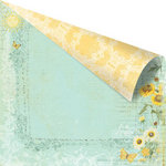Prima - Sun Kiss Collection - 12 x 12 Double Sided Paper - Sunshine Path