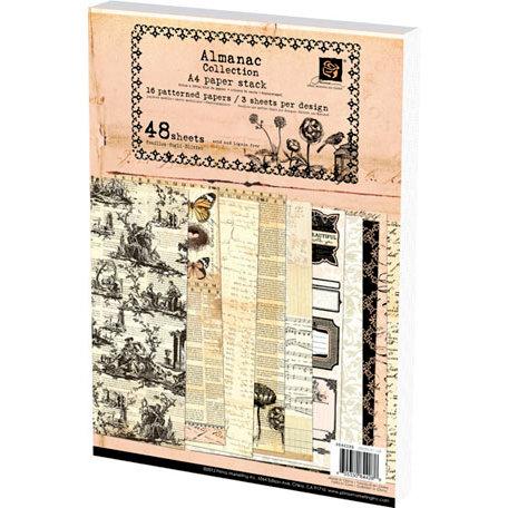 Prima - Almanac Collection - A4 Paper Pad