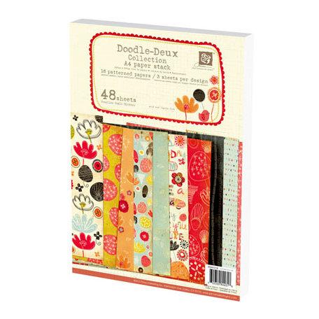 Prima - Doodle-Deux Collection - A4 Paper Pad