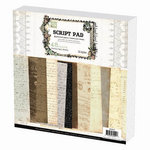 Prima - 12 x 12 Paper Pad - Script