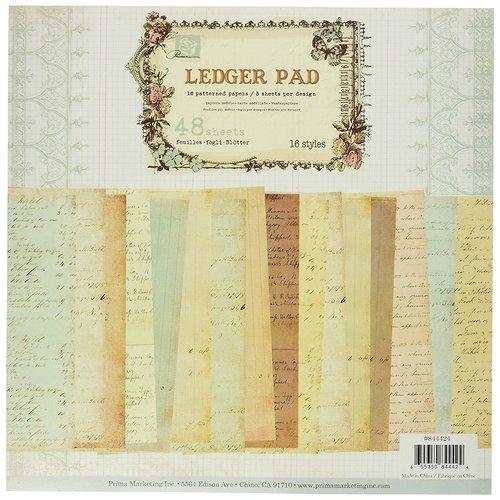 Prima - 12 x 12 Paper Pad - Ledger 3