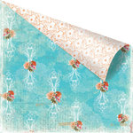 Prima - Zephyr Collection - 12 x 12 Double Sided Paper - Zanella