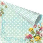 Prima - Zephyr Collection - 12 x 12 Double Sided Paper - Gramercy