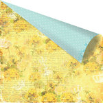 Prima - Zephyr Collection - 12 x 12 Double Sided Paper - Zephyr