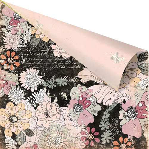 Prima - Rondelle Collection - 12 x 12 Double Sided Paper - Cottilion