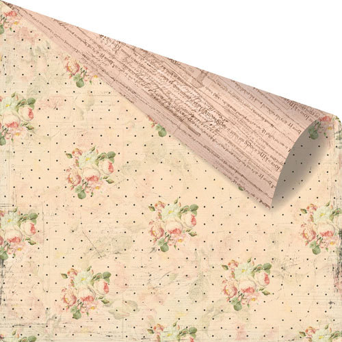 Prima - Tea-Thyme Collection - 12 x 12 Double Sided Paper - Linsey