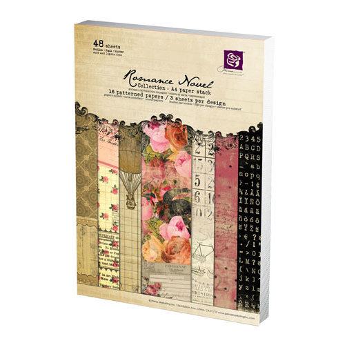 Prima - Romance Novel Collection - A4 Paper Pad