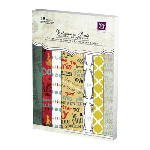 Prima - Welcome to Paris Collection - A4 Paper Pad