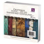 Prima - Craftsman Collection - 6 x 6 Paper Pad