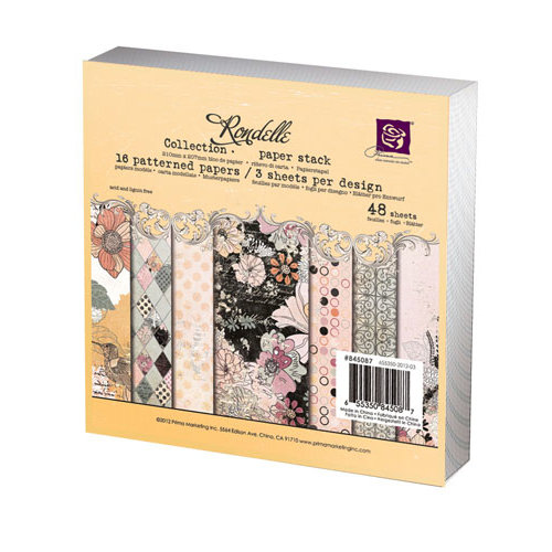 Prima - Rondelle Collection - 6 x 6 Paper Pad