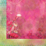 Prima - Firefly Collection - 12 x 12 Double Sided Paper - Delight