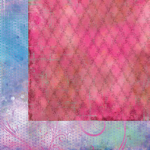 Prima - Firefly Collection - 12 x 12 Double Sided Paper - Journey