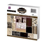 Prima - Engraver Collection - 6 x 6 Paper Pad