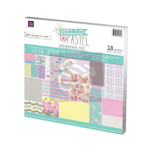 Prima - Hello Pastel Collection - 12 x 12 Collection Kit