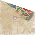 Prima - Allstar Collection - 12 x 12 Double Sided Paper - Victory Banners