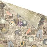 Prima - Allstar Collection - 12 x 12 Double Sided Paper - Memorabilia