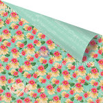 Prima - Anna Marie Collection - 12 x 12 Double Sided Paper - Calico