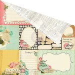Prima - Coffee Break Collection - 12 x 12 Double Sided Paper - Coffeeology