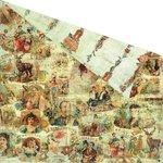 Prima - Cigar Box Secrets Collection - 12 x 12 Double Sided Paper - Panatela