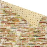 Prima - Cigar Box Secrets Collection - 12 x 12 Double Sided Paper - Figurados