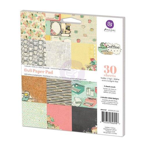 Prima - Coffee Break Collection - 6 x 6 Paper Pad