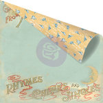 Prima - Bedtime Story Collection - 12 x 12 Double Sided Paper - Mother Goose
