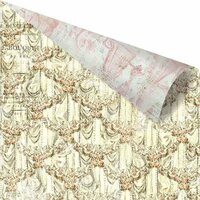 Prima - Debutante Collection - 12 x 12 Double Sided Paper - English Waltz