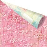 Prima - Garden Fable Collection - 12 x 12 Double Sided Paper - Blushing Floral