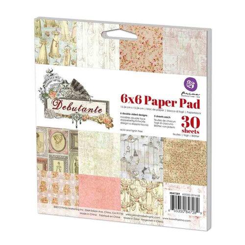 Prima - Debutante Collection - 6 x 6 Paper Pad
