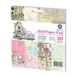 Prima - Garden Fable Collection - 6 x 6 Paper Pad