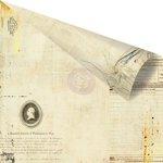 Prima - Vintage Emporium Collection - 12 x 12 Double Sided Paper - Verona