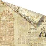 Prima - Vintage Emporium Collection - 12 x 12 Double Sided Paper - Bordeaux