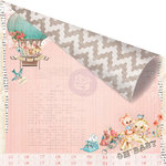 Prima - Heaven Sent Collection - 12 x 12 Double Sided Paper - Welcome Baby