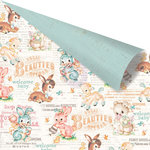Prima - Heaven Sent Collection - 12 x 12 Double Sided Paper - Sweet Lullaby