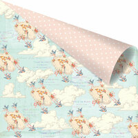 Prima - Heaven Sent 2 Collection - 12 x 12 Double Sided Paper - From Heaven with Foil Accents