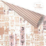 Prima - Amelia Rose Collection - 12 x 12 Double Sided Paper - Good Luck with Foil Accents