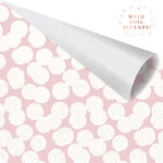 Prima - Amelia Rose Collection - 12 x 12 Double Sided Paper - Dotty with Foil Accents