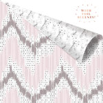 Prima - Cherry Blossom Collection - 12 x 12 Double Sided Paper - Vivid Patterns with Foil Accents