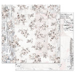 Prima - Pretty Pale Collection - 12 x 12 Double Sided Paper with Foil Accents - Seasons of Love
