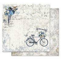 Prima - Georgia Blues Collection - 12 x 12 Double Sided Paper - Happy Days