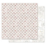 Prima - Lavender Frost Collection - 12 x 12 Double Sided Paper - Hidden Truth