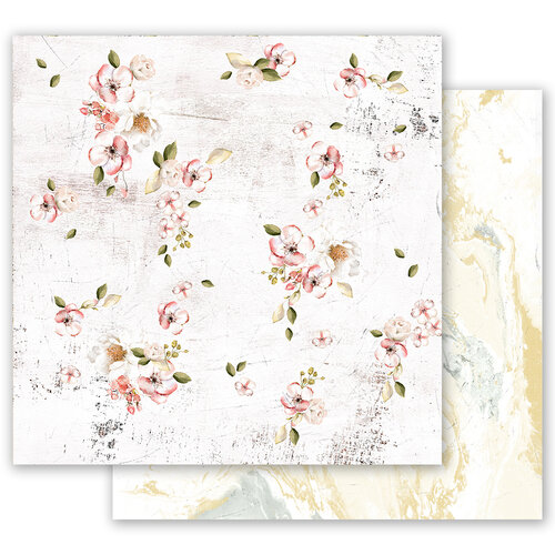 Prima - Fruit Paradise Collection - 12 x 12 Double Sided Paper - In Season with Foil Accents